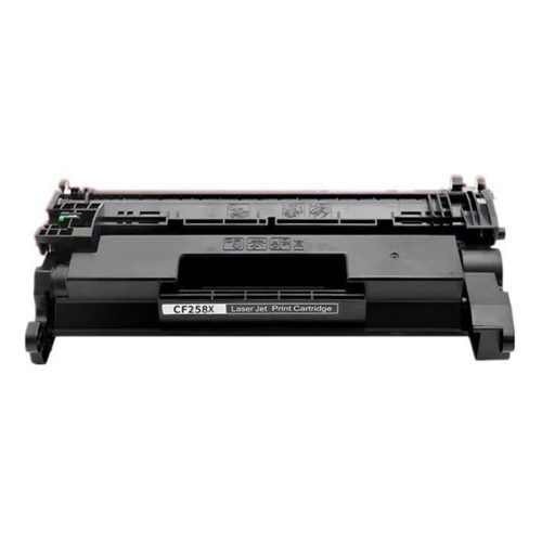 Premium Quality Black High Yield Toner Cartridge compatible with HP CF258X (HP 58X)